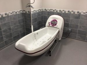 Cocoon Bath Ergo Installed
