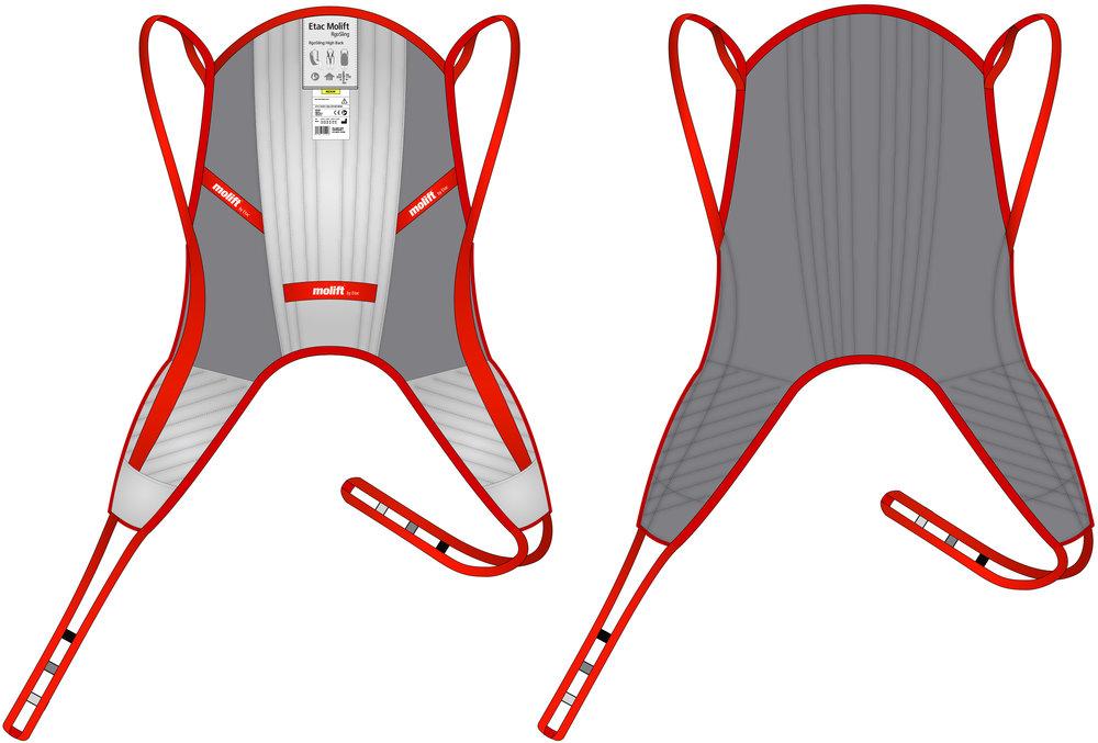 Molift RgoSling - Mediumback
