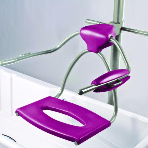 Topaz Bath Hoist inside bath