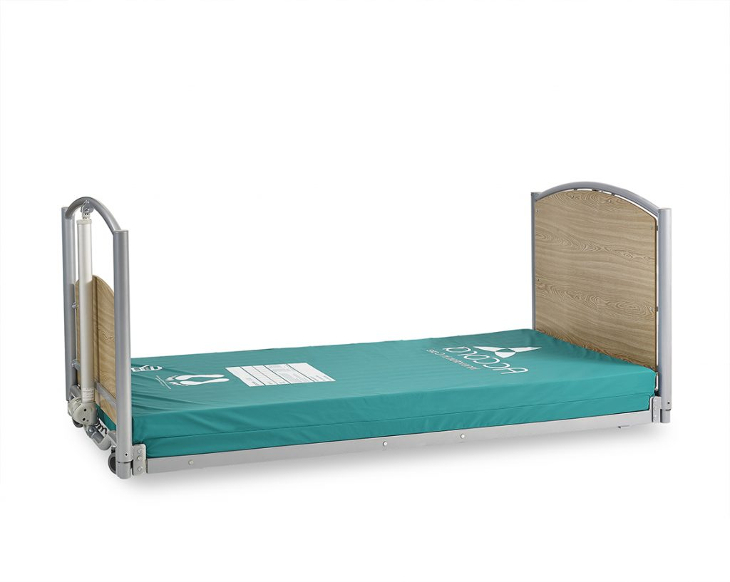 Accora Floor Bed 1, FloorBed™ 1, profiling bed, hospital bed