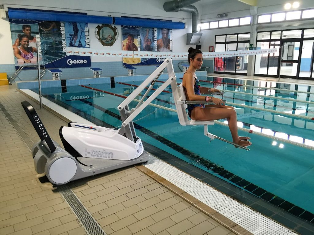 I-Swim 2 Portable Pool Lift