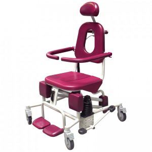 Soflex Height Adjustable Reclining Shower Chair