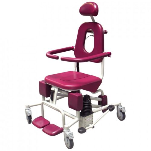Soflex Height Adjustable Reclining Shower Chair