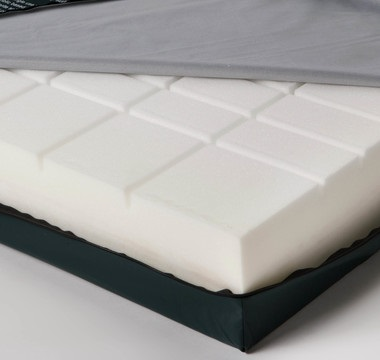 Mattress for profiling bed